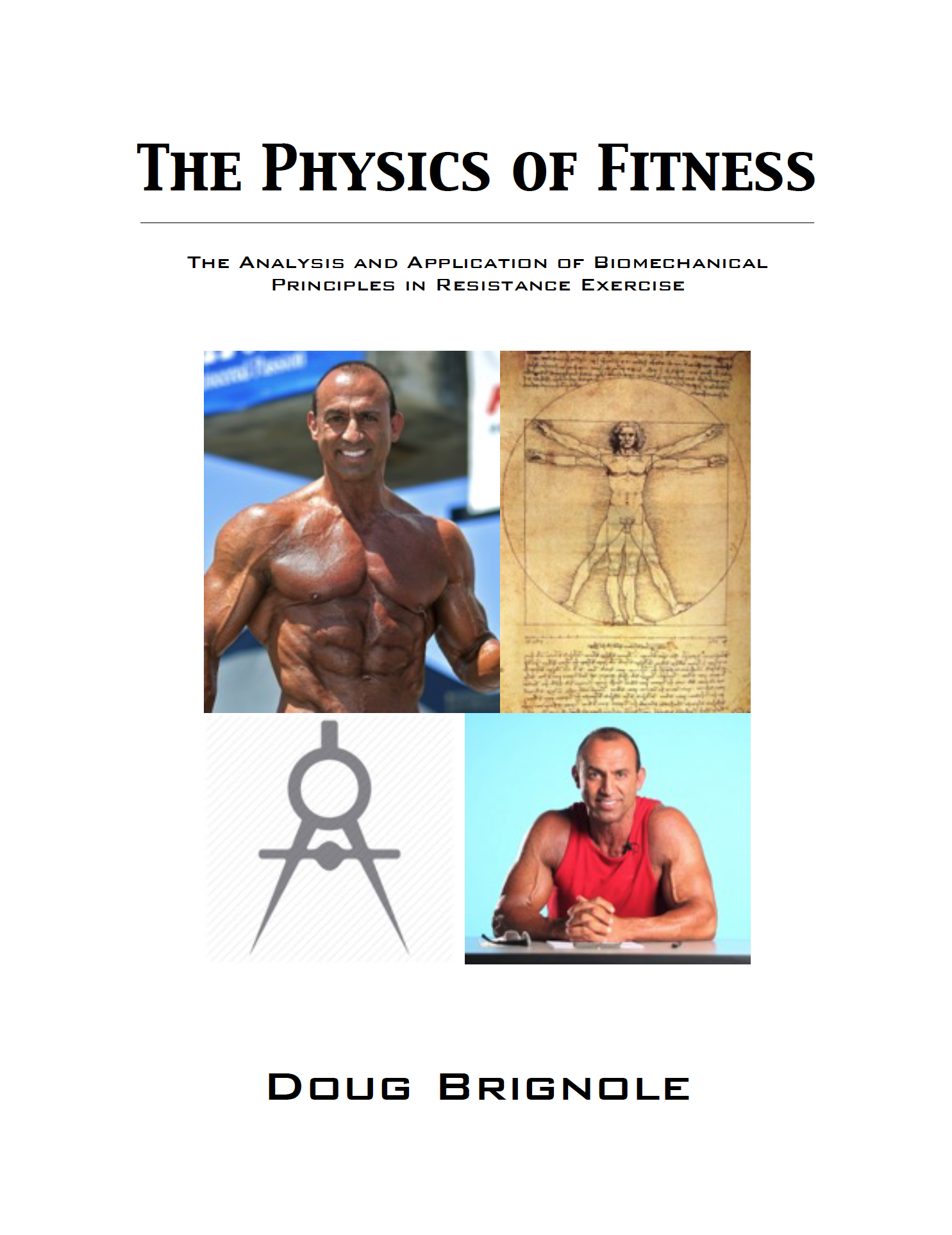 Book cover 'The Physics of Fitness'