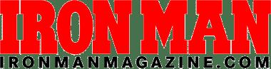 Logo for the bodybuilding website ironmanmagazine.com